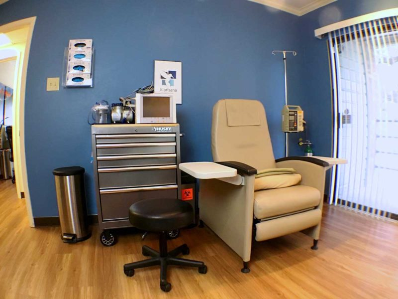Ketamine Infusion Treatment Room In San Antonio